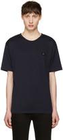 Acne Studios Navy Niagara Face T-Shirt