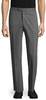 Isaia Solid Linen Trousers