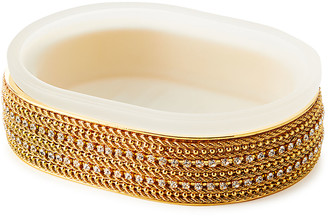 Mike and Ally Archie Solid Chain Oval Soap Dish