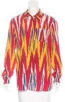 Altuzarra Silk Printed Top