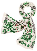 Tory Burch Garden Party Oblong Scarf