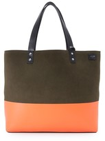 Jack Spade Reversible Suede Coal Bag