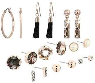 GUESS 9-Pair Studs and Mini Drop Earrings