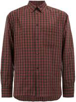 Lanvin checked button shirt