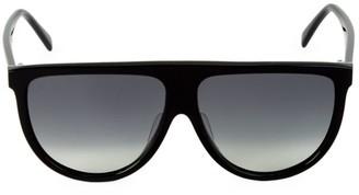 Celine 62MM Flat Top Pilot Sunglasses