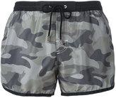 MC2 Saint Barth camouflage print swim shorts - men - Polyamide/Polyester/Spandex/Elastane - S