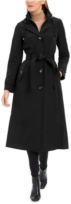 London Fog Petite Maxi Raincoat