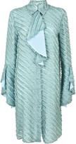 Marco De Vincenzo Textured Shirt Dress