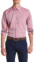 Ted Baker Long Sleeve Trim Fit Oxford Shirt