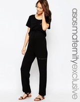 Asos Jumpsuit With Pockets And Zips