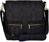 JJ Cole Backpack Diaper Bag - Black and Gold