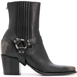 DSQUARED2 Chunky Western Boots