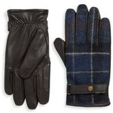 Barbour Newbrough Check Gloves