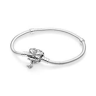 Pandora Women Silver Charm Bracelet 597929CZ-17