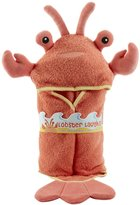 Baby Aspen Hooded Towel/Robe - Lobster Laughs - 0-9 Months