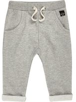 River Island Mini boys grey joggers