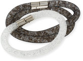 Swarovski Stardust Convertible Crystal Mesh Bracelet/Choker Set, Multi, Medium