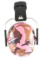 BaBy BanZ Ear Protectors - Camouflage Pink by