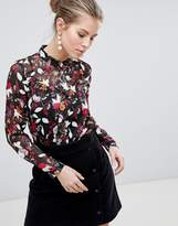 Traffic People Printed Blouse