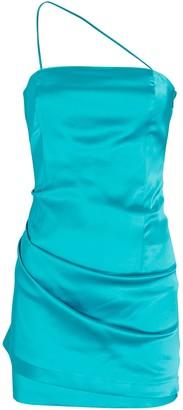 GAUGE81 Pasto One-Shoulder Satin Mini Dress
