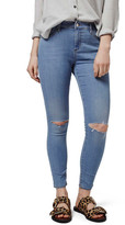 Topshop &Leigh& Ankle Skinny Jeans (Petite)