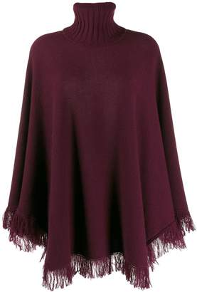 Incentive! Cashmere knitted poncho