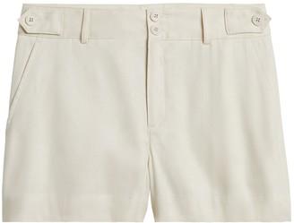 Banana Republic Linen-Cotton 3.5&#34 Short