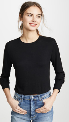 LnA Long Sleeve Ribbed Top