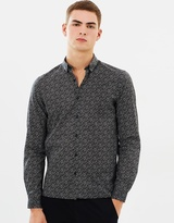 The Kooples Straight Fit Printed Shirt