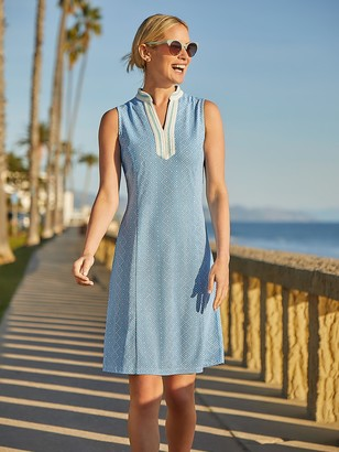 J.Mclaughlin Ginny Dress in Neo Diamond Quilt