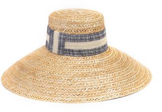 Eugenia Kim Mirabel Vented Straw Sun Hat
