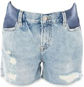 Topshop MATERNITY Bleach Ashley Shorts