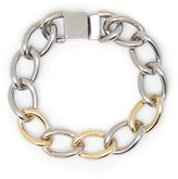 Sole Society Two Tone Link Bracelet