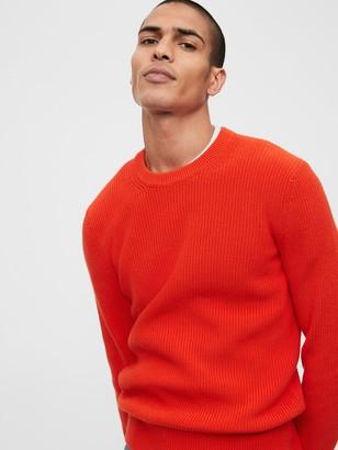 Gap Shaker Crewneck Sweater