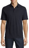Zegna Sport Techmerino Wool Polo Shirt, Dark Blue