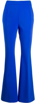Fausto Puglisi flared mid-rise trousers