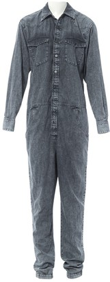 Isabel Marant Grey Denim - Jeans Jumpsuit for Women