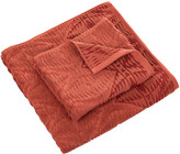 Pendleton Pecos Sculpted Towel - Cayenne - Bath Towel