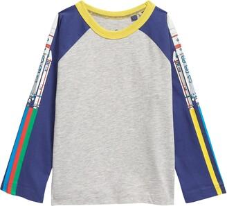 Boden Kids' Space Glow in the Dark T-Shirt