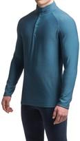 Ibex Woolies 3 Base Layer Top - Merino Wool, Snap Neck, Long Sleeve (For Men)