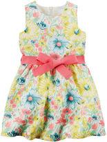 Carter's Floral Print Sleeveless Dress - Toddler Girls 2t-5t
