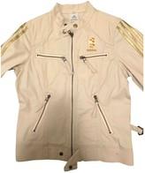adidas Beige Cotton Jacket for Women