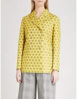 Etro Mandala-jacquard double-breasted jacket