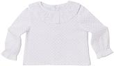 Marie Chantal Marie-Chantal Frill Neck Long Sleeve Blouse