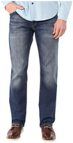 Mavi Jeans Zach Regular Rise Straight in Mid Indigo Cooper