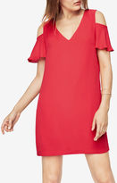 BCBGMAXAZRIA Kia Cold-Shoulder Dress