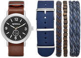 Arizona Mens Brown 5-pc. Watch Boxed Set-Fmdarz549
