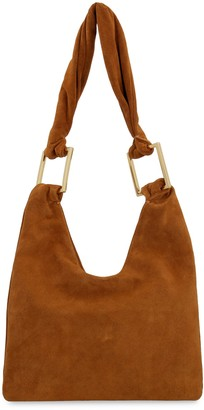 BY FAR Ava Suede Tote