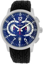 Roberto Bianci Men's 7096mrub-ss_bl Pro Racing Analog Display Analog Quartz Black Watch