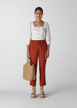 Leanora Linen Trouser